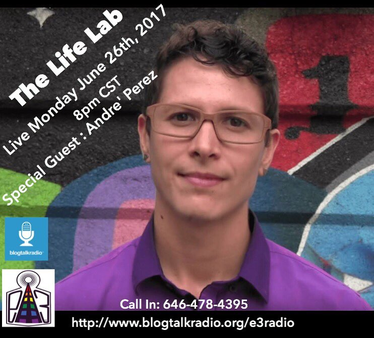 "The Life Lab: Episode 42 ""Power In Vulnerability"" with Andre Perez"