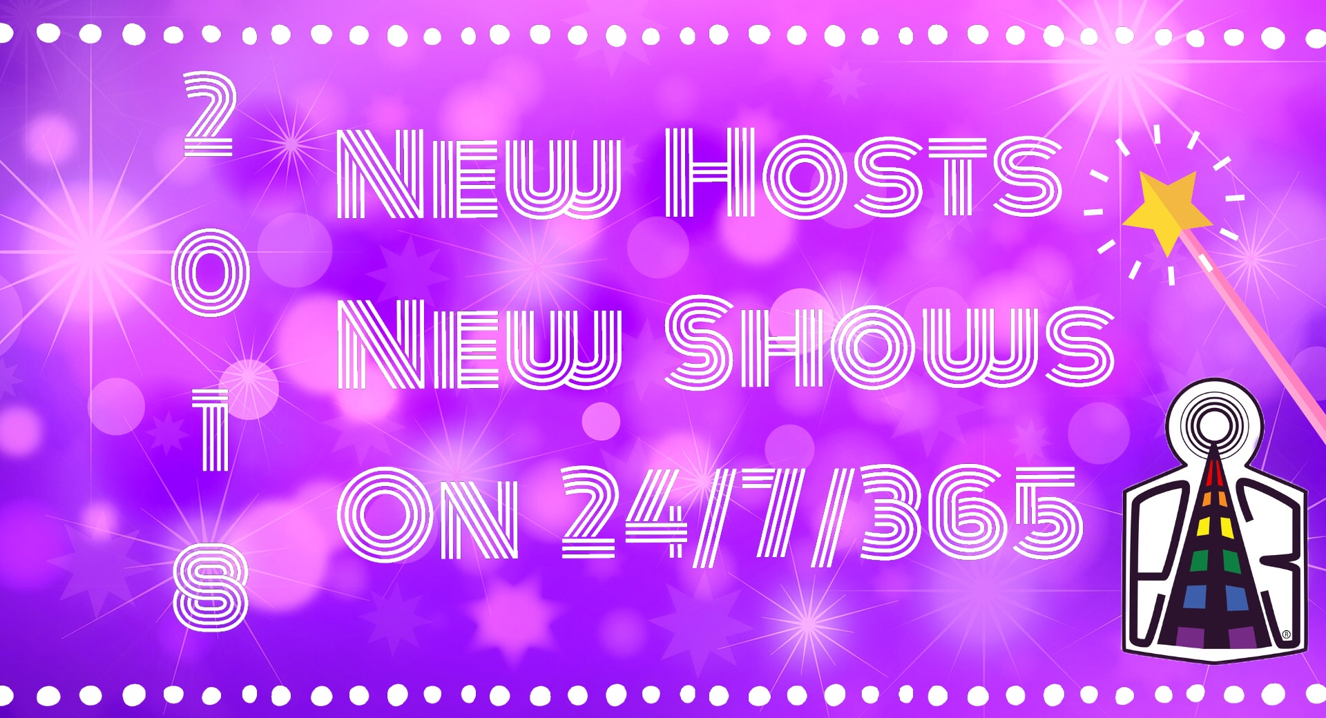 New Shows, New Programs, 24/7/365